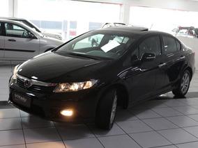 Honda Civic 1.8 Exs Flex Aut. 2012 * Top De Linha+teto Solar