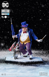 Iron Studios Dc Comics The Penguin 1/10 Art Scale