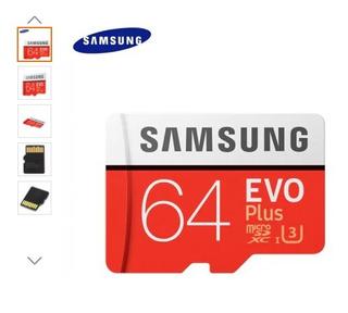 Cartão Micro Sd Sdxc 64gb Samsung Classe10 (frete Grátis)