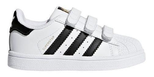 Zapatillas adidas Superstar Con Abrojo Bebes/niños