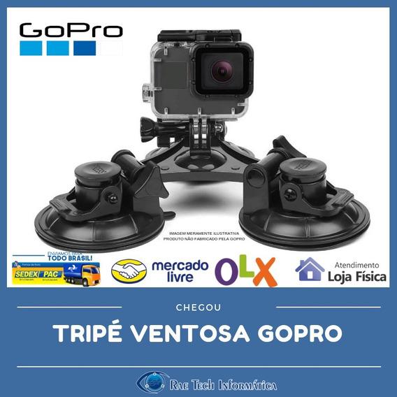 Suporte Ventosa Tripe Gopro Hero 5 6 7 E Anteriores