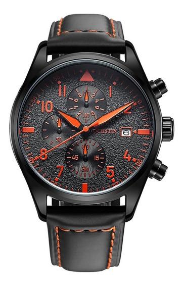 Reloj Ochstin Gq043b 3atm Agua Naranja
