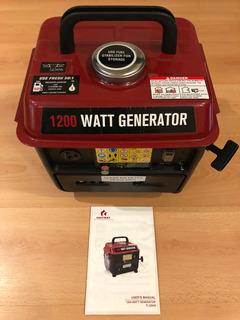 Planta Electrica Generador 1200 Watts
