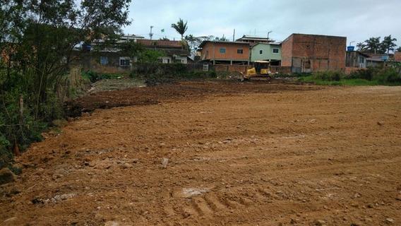 Terreno No Bairro Gravata, Penha, 2422,52 De Area, Final De Rua, Plano, Ideal Para Pousada, Hotel E Kitnet - 3577716