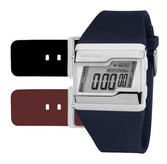 Relógio Mormaii Troca Pulseira Fz/t8n Com Nf