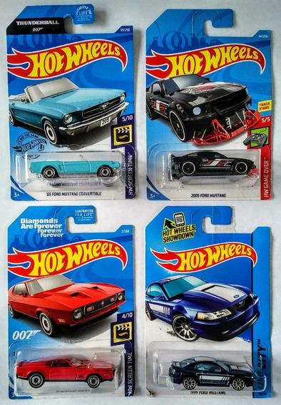 Ford Mustang Hotwheels Nuevos En Tarjetas Selladas