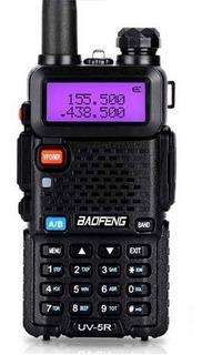 Handy Walkie Talkie Baofeng 6km 128 Ch. Vhf Uhf Fm Marina