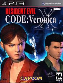 Resident Evil Code Veronica X Hd + Resident Evil 4 Hd - Psn