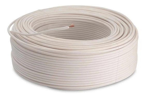 Cable 6 Thw Awg Pvc 75°c 600v X10 Mts Cabel /