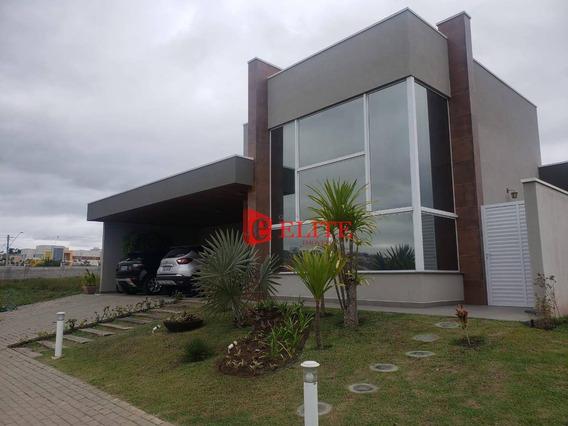 Condominio Mont Blanc - Casa Térrea Com 3 Dormitórios À Venda, 250 M² Por R$ 1.390.000 - Urbanova - São José Dos Campos/sp - Ca2079