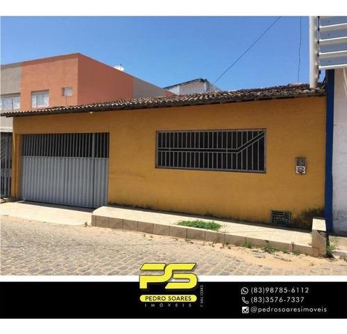 Casa Com 3 Dormitórios À Venda, 200 M² Por R$ 170.000 - Pajuçara - Natal/rn - Ca0904