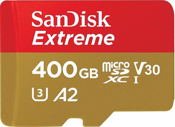 Sandisk Micro Sdxc Extreme U3 160mb/s 4k A2 400gb Original