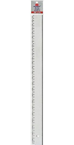 Imagem 1 de 1 de Regua Acrimet Em Poliestireno 50cm Cristal 515.0
