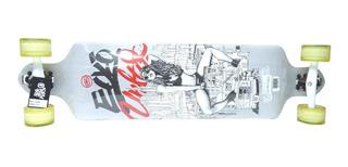 Skate Longboard Ecko Unltd. 102 X 23 Cm Maple Abec 9
