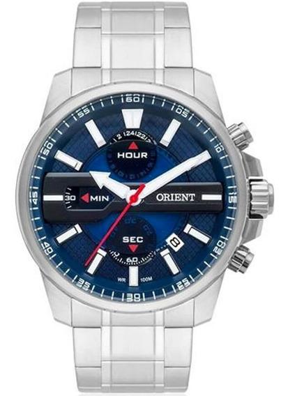 Relógio Masculino Orient Analógico Mbssc163 D1sx Aço