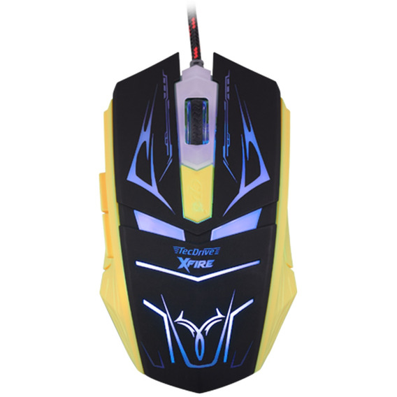 Mouse Gamer 3200 Dpi 7 Botoes Xfire Led Azul Tecdrive Neith