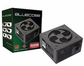 Fonte Atx Bluecase Blu 500 Pfc 500w Active Bivolt Automatico