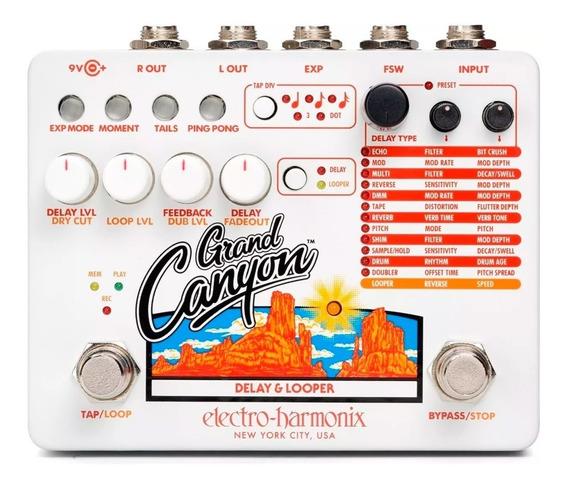 Pedal Delay Electro Harmonix Grand Canyon Delay & Looper Usa