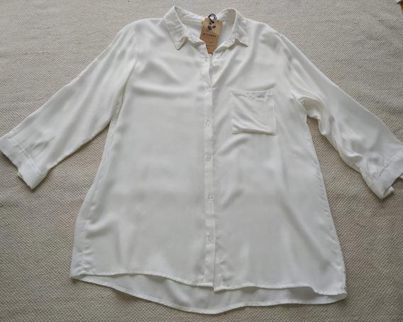 Camisa Manga 3/4 Urbana Talle Unico Showroom Myjuanna.shop