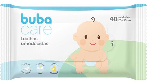Lenços Umedecidos Buba Care 48 Unidades - Buba