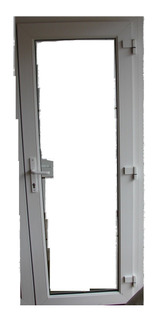 Puerta Pvc Blanco Termoacustica Rehau 1,05x2,21 - Fabrica