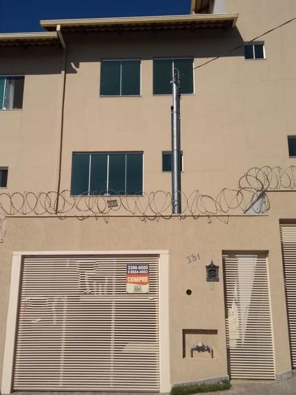 Casa Geminada Com 3 Quartos Para Comprar No Cabral Em Contagem/mg - 42194
