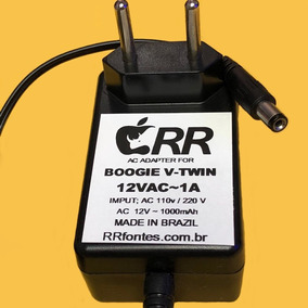 Fonte Carregador Pedal Mesa Engineering Boogie V-twin 12v 1a