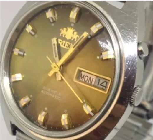 Relógio De Pulso Orient Masculino Automático T10480 Webclock