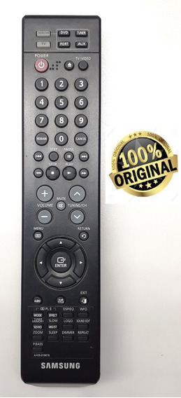 Controle Hometheater Samsung Htxa 100 Ah59-01907b Original