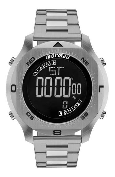 Relógio Mormaii Mo11273c1p Cinza - Cor: Cinza - Tamanho: Úni