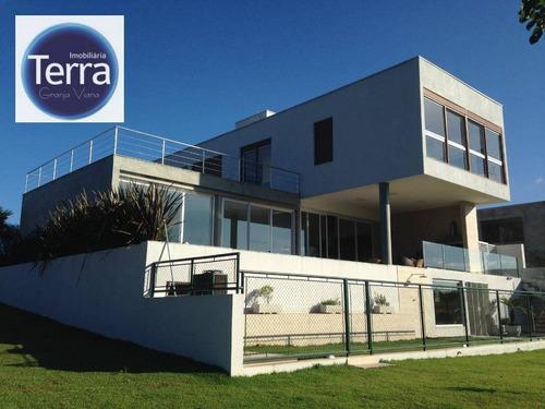 Casa Com 4 Dormitórios À Venda, 440 M² Por R$ 3.300.000 - Vintage - Granja Viana - Ca1990