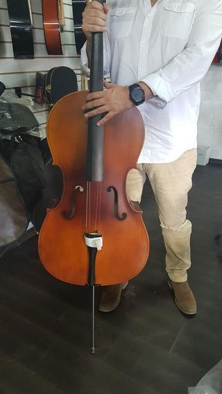 Cello 4/4 Nuevo Camemusic Con Estuche!!!