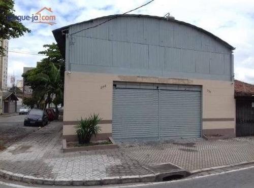 Galpão Locação E Venda, 350 M² Por R$ 1.500.000 - Vila Maria - São José Dos Campos/sp - Ga0265