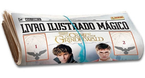 Álbum Animais Fantásticos - Os Crimes De Grindelwald