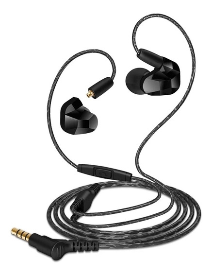 Fone In-ear Moxpad X9 Dual Driver Palco Mp3