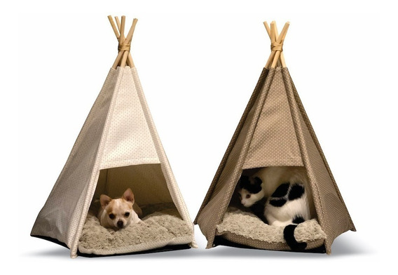 Cama Casinha Tenda Cachorro E Gato Bulldog, Lulu, Shih Tzu