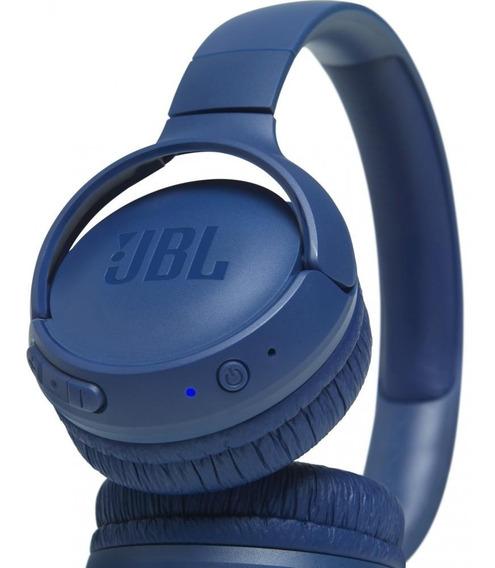Fone Jbl T500bt Azul Bluetooth Lançamento Substitui T450