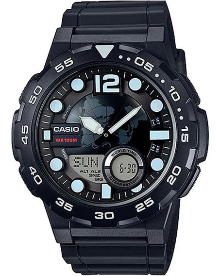 Relógio Original Casio Aeq-100w-1avdf