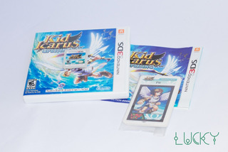 Kid Icarus - Nintendo 3ds/2ds Completo Cards + Base