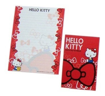 4x Papel De Carta 2x Envelope Hello Kitty Sanrio -frete#$9,5