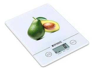 Balanza Tactil Cocina Digital Electronica Vidrio 1gr A 3 Kg