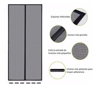 Malla Cortina Mosquitero Magnético De Fibra De Vidrio