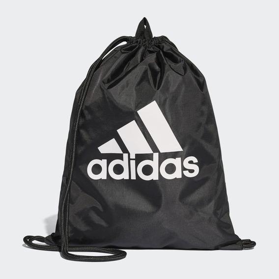 Bolsa De Ginastica adidas Tiro B46131 Preto Unissex Listras