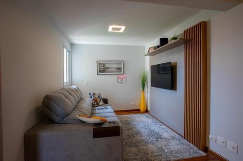 Apartamento À Venda, 3 Quartos, 3 Suítes, 3 Vagas, Guiomar - Santo André/sp - 91085
