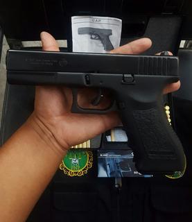 Pistola De Fogueo Bruni Gap 9m No Letal Uso Civil Defensa Gl