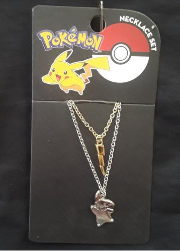 Collares Pikachu Pokemon Set 2 Oficial