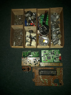 Lote Componentes Electronicos, Baterias, Motores Electricos
