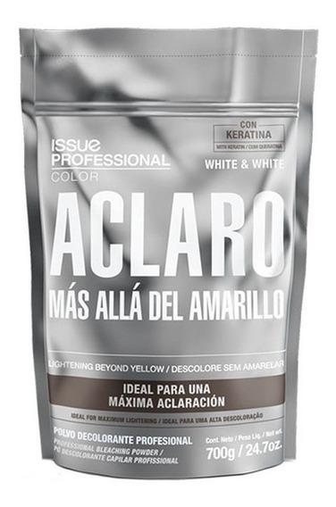 Polvo Decolorante Issue White & White Profesional Coloración
