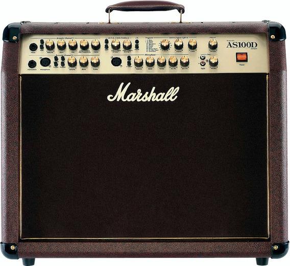 Marshall As100 D Amplificador De Acustica - Oddity