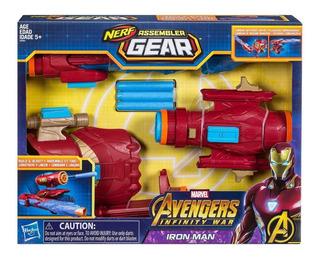 Nerf Ironman Assembler Gear Construye Lanza E0562 Has Edu
